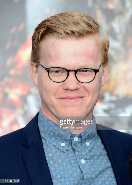 Actor Jesse Plemons arrives at the Premiere Of Universal Pictures' Battleship at The Nokia Theatre LA Live on May 10 2012 in Los Angeles California