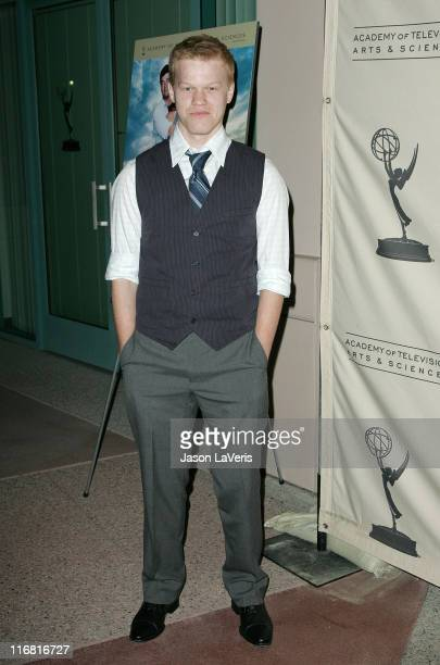 Actor Jesse Plemons at An Evening with Friday Night Lights at the Leonard Goldenson Theater on January 31 2008 in North Hollywood California