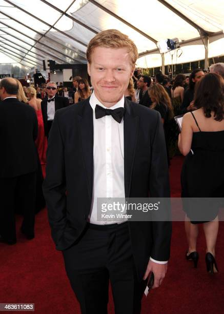 Actor Jesse Plemons attends 20th Annual Screen Actors Guild Awards at The Shrine Auditorium on January 18 2014 in Los Angeles California
