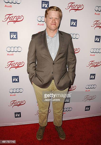 Actor Jesse Plemons attends the premiere of FX's Fargo season 2 at ArcLight Cinemas on October 7 2015 in Hollywood California