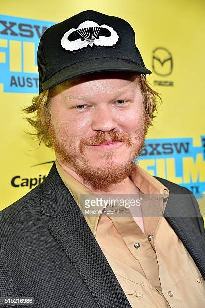 Actor Jesse Plemons attends the screening of Midnight Special during the 2016 SXSW Music Film Interactive Festival at Paramount Theatre on March 12...