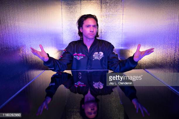 Actor Jesse Rath of 'Supergirl' is photographed for Los Angeles Times at ComicCon International on July 20 2019 in San Diego California PUBLISHED...