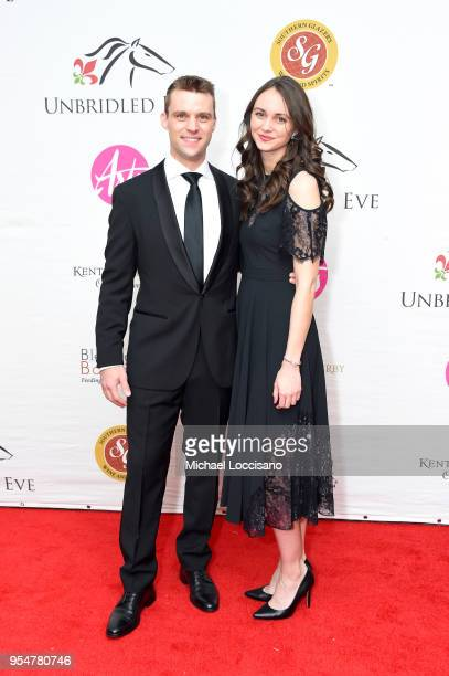 Actor Jesse Spencer and Kali Woodruff attend the Unbridled Eve Gala during the 144th Kentucky Derby at Galt House Hotel Suites on May 4 2018 in...