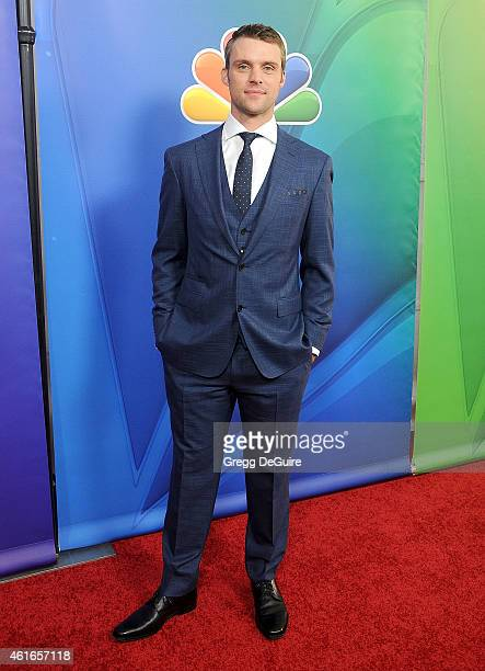 Actor Jesse Spencer arrives at day 2 of the NBCUniversal 2015 Press Tour at The Langham Huntington Hotel and Spa on January 16 2015 in Pasadena...