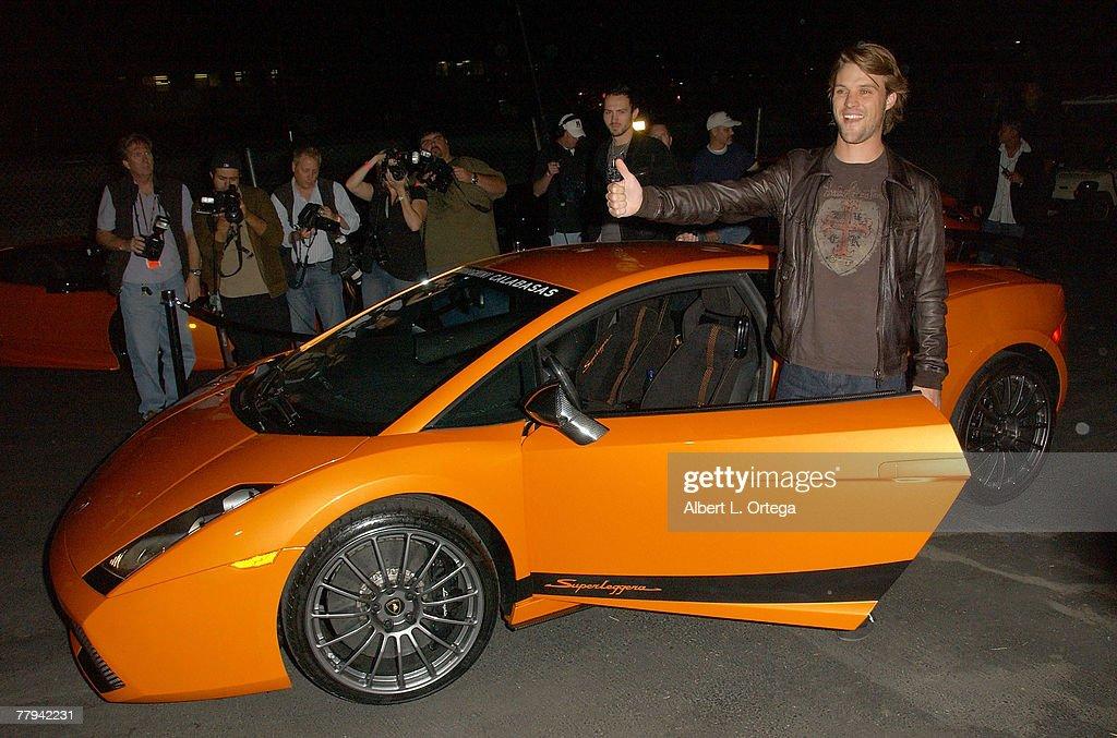 Photo of Jesse Spencer  - car