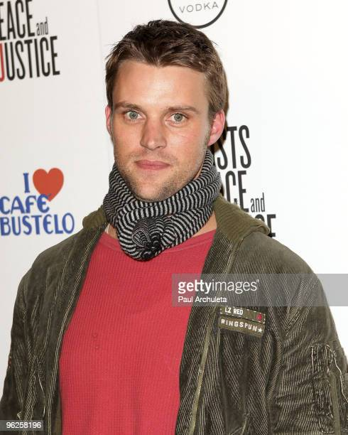 Actor Jesse Spencer arrives at the Artists For Haiti Benefit at Bergamot Station on January 28 2010 in Santa Monica California