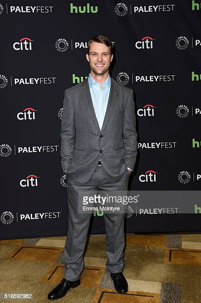 Actor Jesse Spencer arrives at The Paley Center For Media's 33rd Annual PaleyFest Los Angeles presentation of 'An Evening with Dick Wolf with the...
