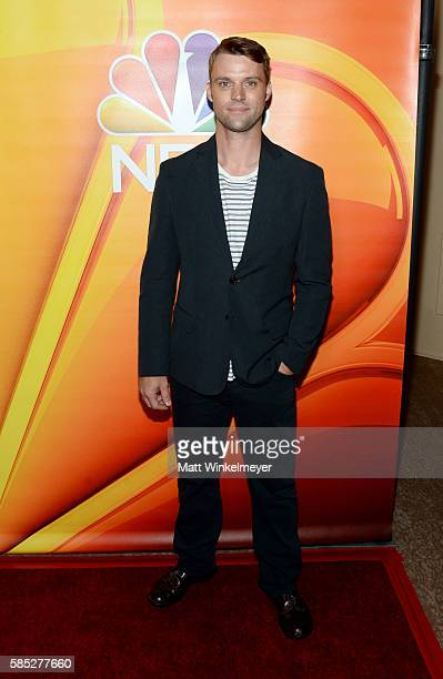Actor Jesse Spencer attends the NBCUniversal press day during the 2016 Summer TCA Tour at The Beverly Hilton Hotel on August 2 2016 in Beverly Hills...