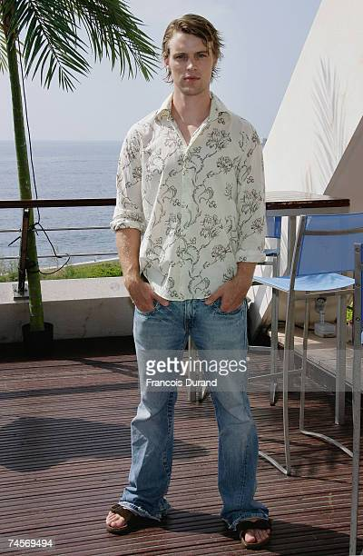 Actor Jesse Spencer poses for a portrait session on the second day of the 2007 Monte Carlo Television Festival held at Grimaldi Forum on June 12 2007...