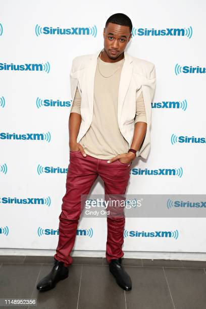Actor Jesse T Usher takes part in SiriusXM's Town Hall with the cast of 'Shaft' hosted by Sway Calloway at SiriusXM Studios on June 10 2019 in New...