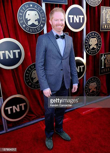 Actor Jesse Tyler Ferguson arrives at the 18th Annual Screen Actors Guild Awards at The Shrine Auditorium on January 29 2012 in Los Angeles California