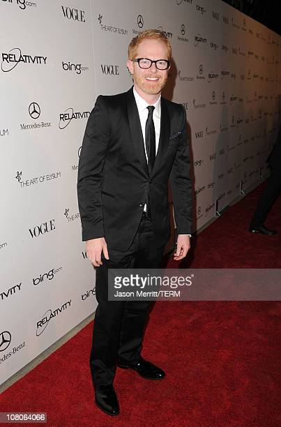 Actor Jesse Tyler Ferguson arrives at the 2011 Art Of Elysium Heaven Gala held at the California Science Center on January 15 2011 in Los Angeles...