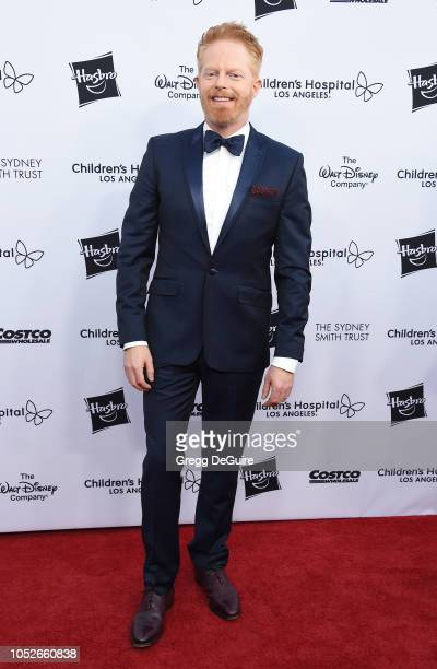 Actor Jesse Tyler Ferguson arrives at the 2018 From Paris With Love Children's Hospital Los Angeles Gala at LA Live Event Deck on October 20 2018 in...