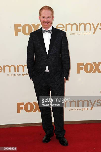 Actor Jesse Tyler Ferguson arrives at the 63rd Annual Primetime Emmy Awards held at Nokia Theatre LA LIVE on September 18 2011 in Los Angeles...