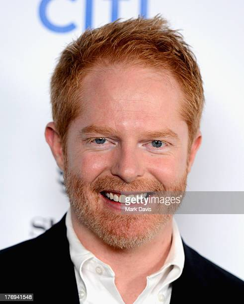 Actor Jesse Tyler Ferguson arrives at the Academy of Television Arts Sciences' Performers Peer Group cocktail reception to celebrate the 65th...
