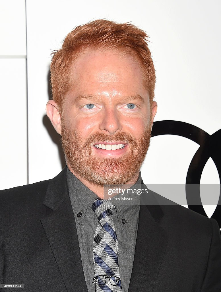 Actor Jesse Tyler Ferguson arrives at the Audi Celebrates Emmys Week 2015 at Cecconi's on September 17, 2015 in West Hollywood, California.