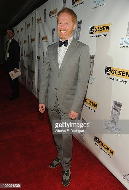 Actor Jesse Tyler Ferguson arrives to the 6th Annual GLSEN Respect Awards at the Beverly Hills Hotel on October 8 2010 in Beverly Hills California