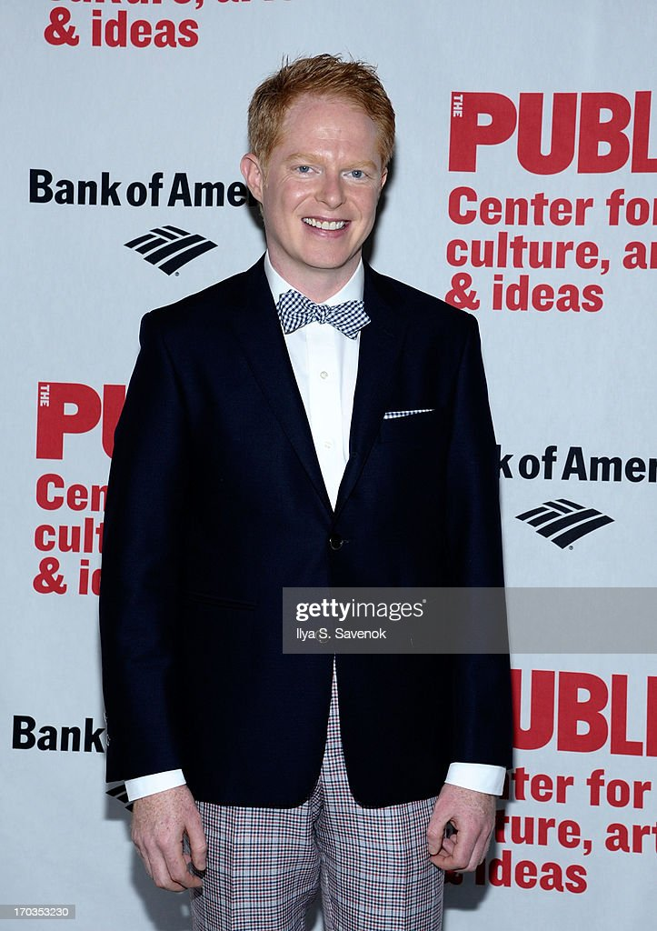 Actor Jesse Tyler Ferguson attends Annual Public Theater Gala at Delacorte Theater on June 11, 2013 in New York City.
