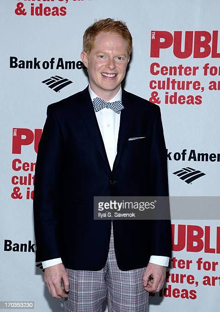 Actor Jesse Tyler Ferguson attends Annual Public Theater Gala at Delacorte Theater on June 11 2013 in New York City
