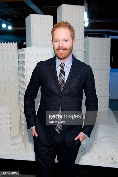 Actor Jesse Tyler Ferguson attends Brita's Sugar Buildings Campaign Launch at Chelsea Market on October 21 2014 in New York City