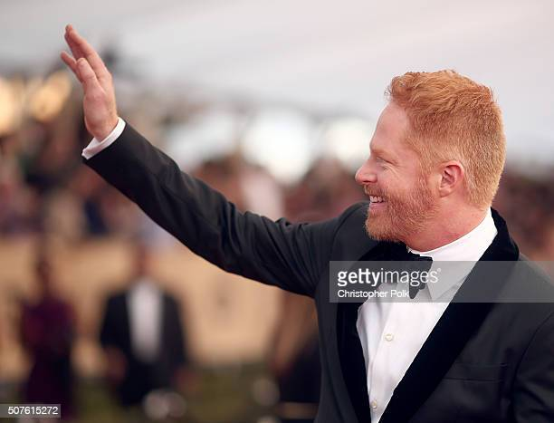 Actor Jesse Tyler Ferguson attends The 22nd Annual Screen Actors Guild Awards at The Shrine Auditorium on January 30 2016 in Los Angeles California...