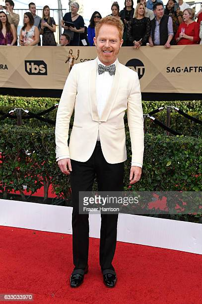 Actor Jesse Tyler Ferguson attends The 23rd Annual Screen Actors Guild Awards at The Shrine Auditorium on January 29 2017 in Los Angeles California...