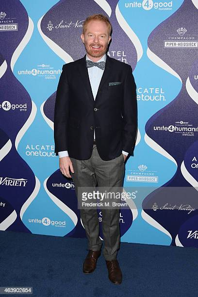 Actor Jesse Tyler Ferguson attends the 2nd Annual unite4humanity Presented By ALCATEL ONETOUCH at the Beverly Hilton Hotel on February 19 2015 in Los...