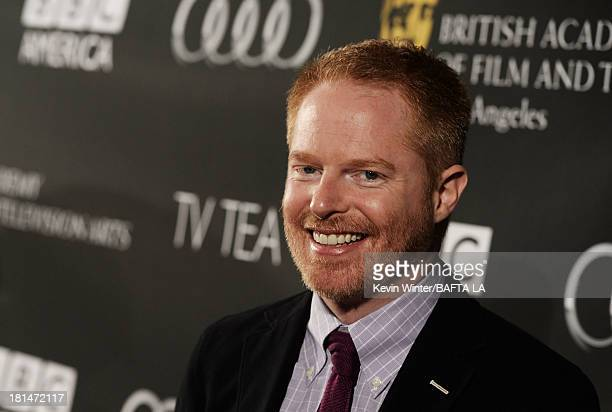 Actor Jesse Tyler Ferguson attends the BAFTA LA TV Tea 2013 presented by BBC America and Audi held at the SLS Hotel on September 21 2013 in Beverly...