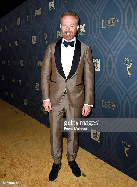 Actor Jesse Tyler Ferguson attends the FOX Broadcasting Company FX National Geographic And Twentieth Century Fox Television's 68th Primetime Emmy...