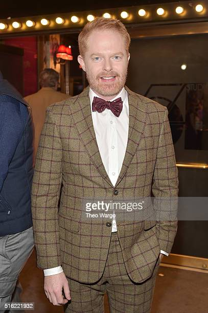 Actor Jesse Tyler Ferguson attends the opening night of She Loves Me on Broadway at Studio 54 on March 17 2016 in New York City