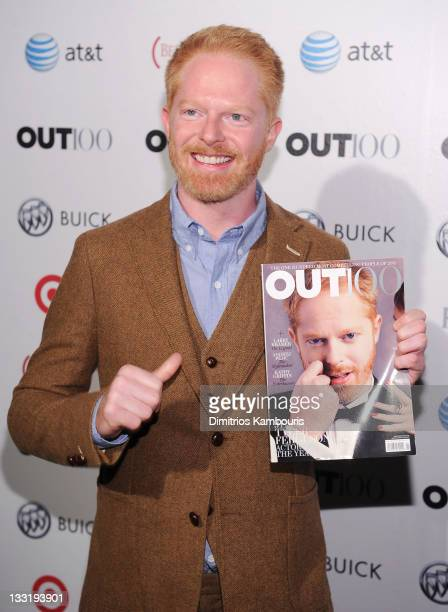 Actor Jesse Tyler Ferguson attends the OUT celebration of The OUT100 at Skylight Soho on November 17 2011 in New York City