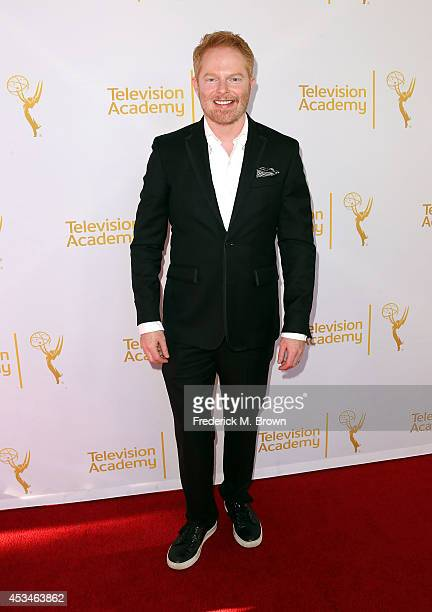 Actor Jesse Tyler Ferguson attends the Television Academy's Directors Peer Group Celebrates the 66th Emmy Awards Outstanding Choreography Nominees at...