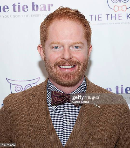 Actor Jesse Tyler Ferguson attends The Tie Bar opening of a Pop Up Shop on October 23 2014 in Chicago Illinois