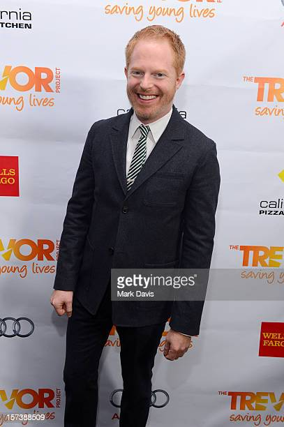 Actor Jesse Tyler Ferguson poses in the Getty Images and Wonderwallcom photo booth and green room at Trevor Live honoring Katy Perry and Audi of...