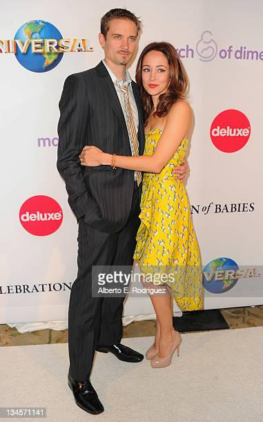 Actor Jesse Warren and actress Autumn Reeser arrive to the March of Dimes' 6th Annual Celebration of Babies Luncheon at The Beverly Hills Hotel on...