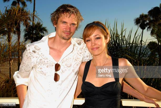 Actor Jesse Warren and actress Autumn Reeser attends the Our Very Own DVD release event held at Loew's Santa Monica Beach Hotel on July 19 2007 in...
