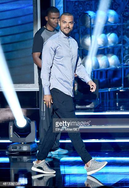 Actor Jesse Williams appears onstage during The Players' Awards presented by BET at the Rio Hotel Casino on July 19 2015 in Las Vegas Nevada