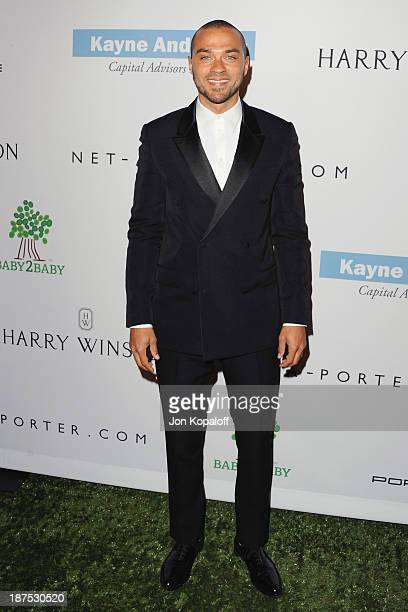 Actor Jesse Williams arrives at the 2nd Annual Baby2Baby Gala at The Book Bindery on November 9 2013 in Culver City California