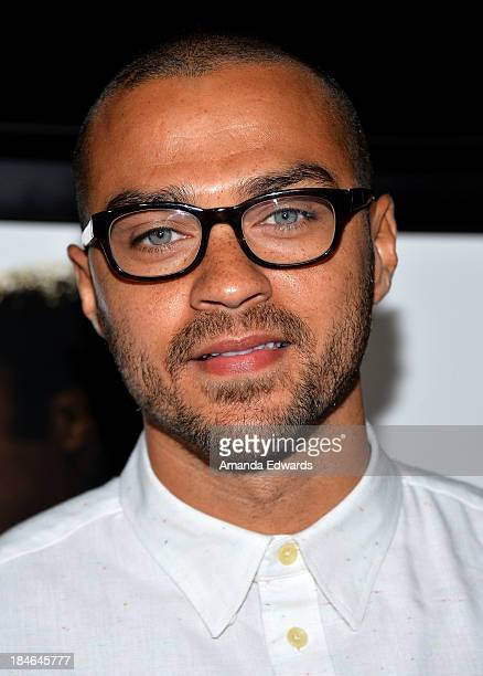 Actor Jesse Williams arrives at the Los Angeles premiere of 12 Years A Slave at Directors Guild Of America on October 14 2013 in Los Angeles...