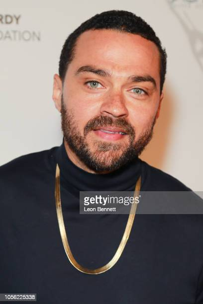Actor Jesse Williams attends 18th Annual Debbie Allen Dance Academy Fall Soiree Fundraising Celebration at Wallis Annenberg Center for the Performing...