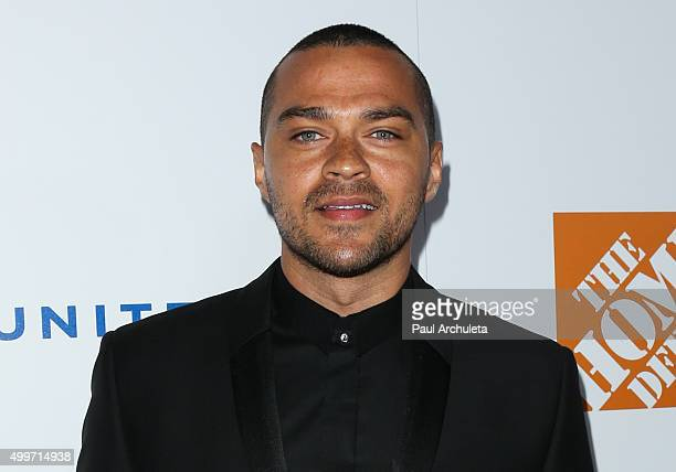 Actor Jesse Williams attends Ebony Magazine's Power 100 Gala at The Beverly Hilton Hotel on December 2 2015 in Beverly Hills California