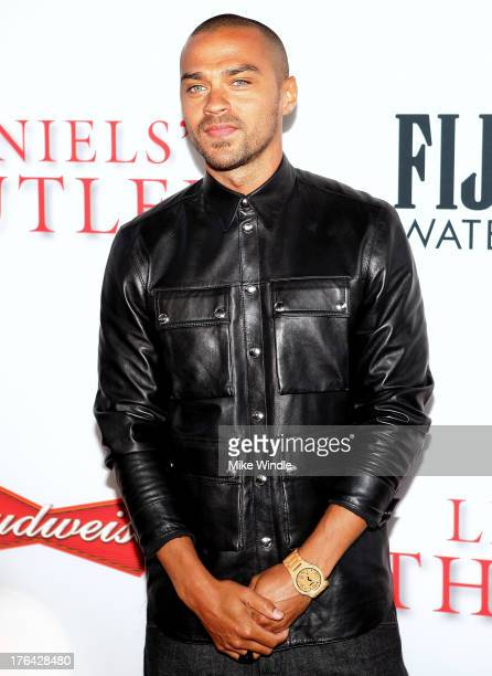 Actor Jesse Williams attends LEE DANIELS' THE BUTLER Los Angeles premiere hosted by TWC Budweiser and FIJI Water Purity Vodka and Stack Wines held at...