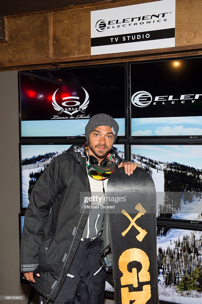 Actor Jesse Williams attends Oakley Learn To Ride In Collaboration With New Era on January 19, 2013 in Park City, Utah.