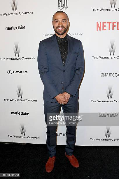 Actor Jesse Williams attends the 2015 Weinstein Company and Netflix Golden Globes After Party at Robinsons May Lot on January 11 2015 in Beverly...