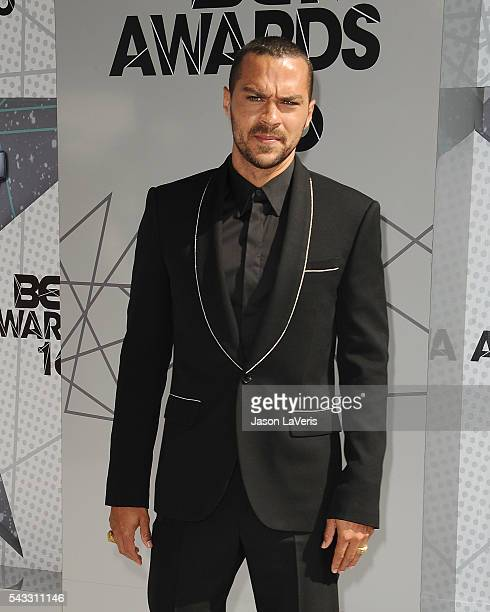 Actor Jesse Williams attends the 2016 BET Awards at Microsoft Theater on June 26 2016 in Los Angeles California