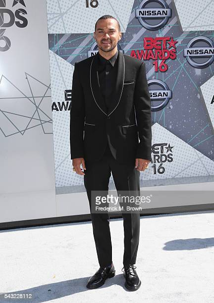 Actor Jesse Williams attends the 2016 BET Awards at the Microsoft Theater on June 26 2016 in Los Angeles California