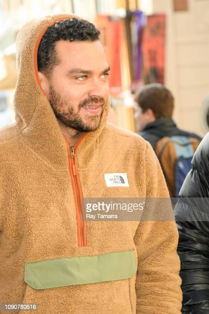 Actor Jesse Williams attends the 2019 Sundance Film Festival on January 28 2019 in Park City Utah
