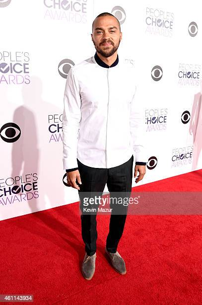 Actor Jesse Williams attends The 41st Annual People's Choice Awards at Nokia Theatre LA Live on January 7 2015 in Los Angeles California