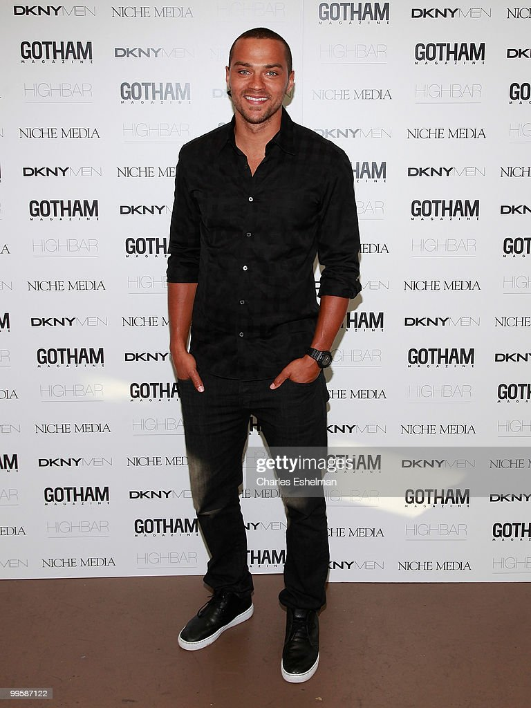 Actor Jesse Williams attends the Alex Rodriguez cover party hosted by Jason Binn & Niche Media's Gotham Magazine at Highbar on May 15, 2010 in New York City.