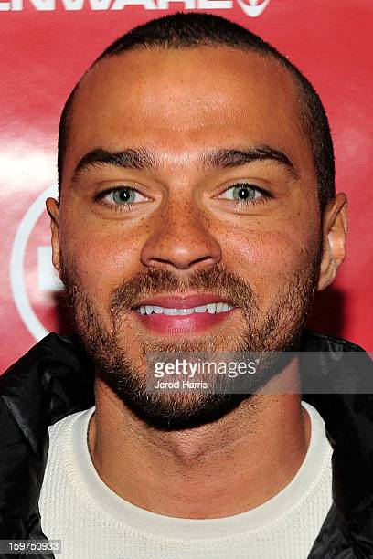 Actor Jesse Williams attends the Google Hangout at the DELL #Inspire 100 Lounge on January 19 2013 in Park City Utah